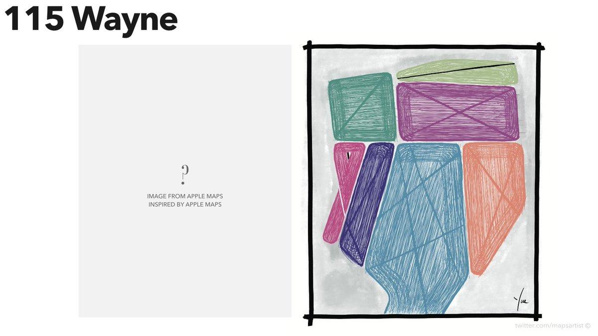 #115 Wayne [HC, Portrait]  #wayne #nhl #icehockey #mapsartist #procreate #artist #kunst #digitalart #outsiderart #artbrut #artontwitter #twitterart #artoftheday #painting #prints #lines #design