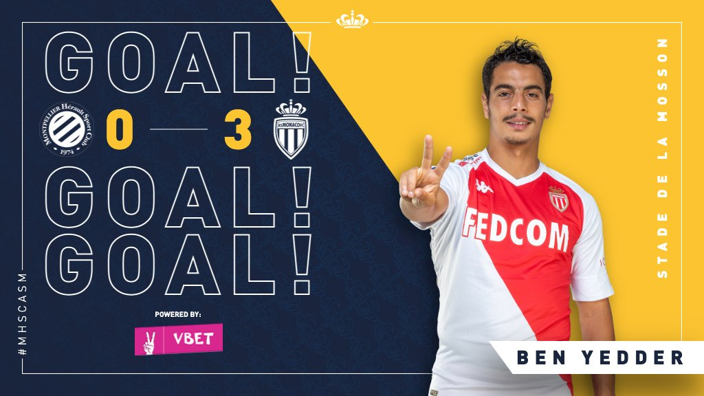 61' GOOOOAAAAALLLL 💥  A superb penalty kick into the corner and @WissBenYedder  grabs his second, and our third, of the game. ℍ𝕒𝕡𝕡𝕪 𝔻𝕒𝕪𝕤 !   0️⃣-3️⃣ #MHSCASM