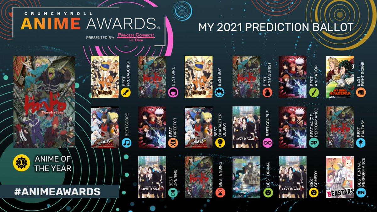 Mine  Hopefully Dorohedoro wins a lot #AnimeAwards
