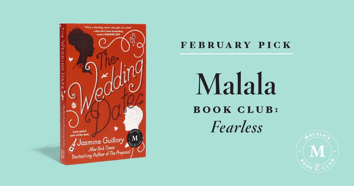@Malala will be reading The Wedding Date by @thebestjasmine