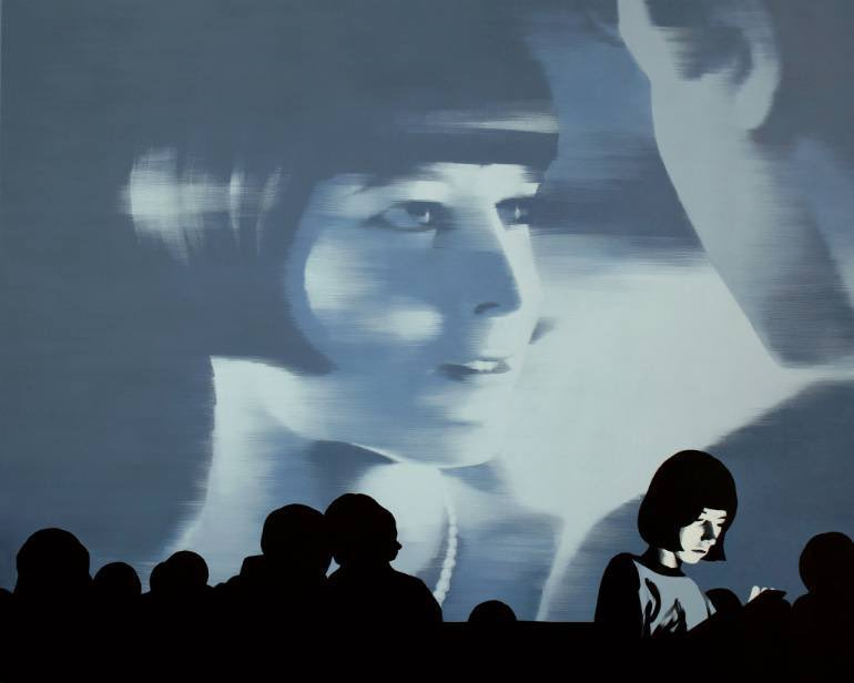 Lo que más me gusta de Puczel es su serie titulada Proyecciones. De todos modos, toda su obra es muy cinematográfica tanto por la luz, el ángulo dramático el momento congelado o la propia temática como en estos cuadros.   Interesante, ¿verdad?