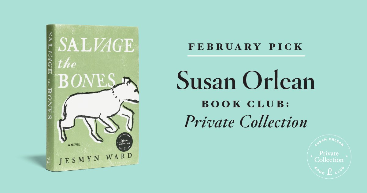 @susanorlean will be reading Salvage the Bones by @jesmimi