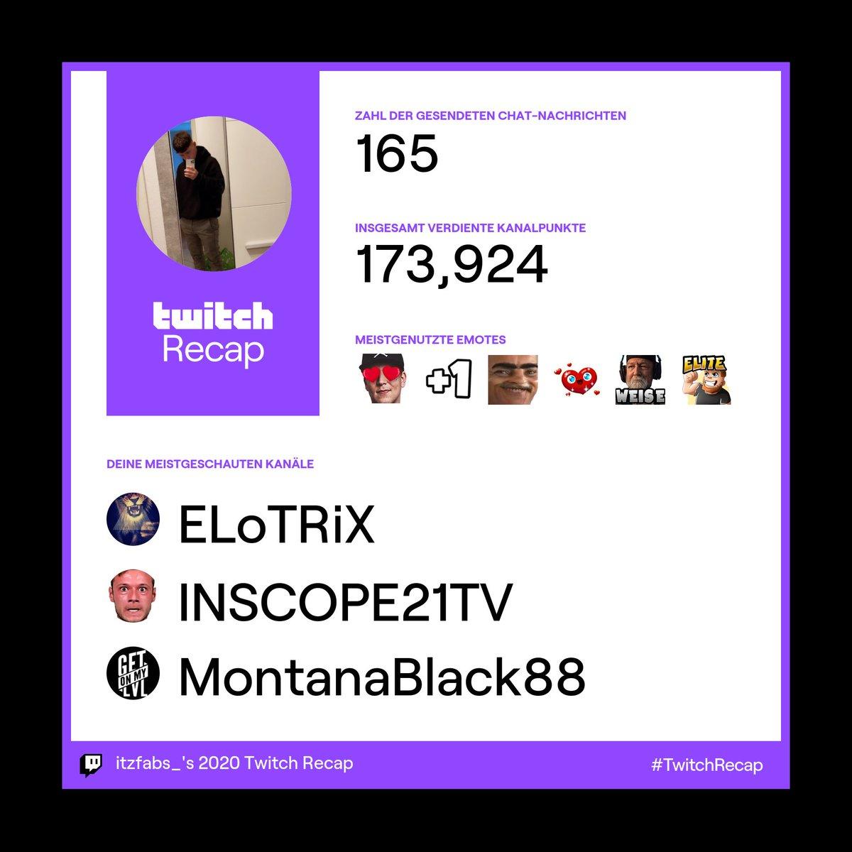 @ELoTRiX kuss kuss kuss❤️ @inscopenico kuss du lappen @MontanaBlack ❤️ #TwitchRecap #twitch #2020