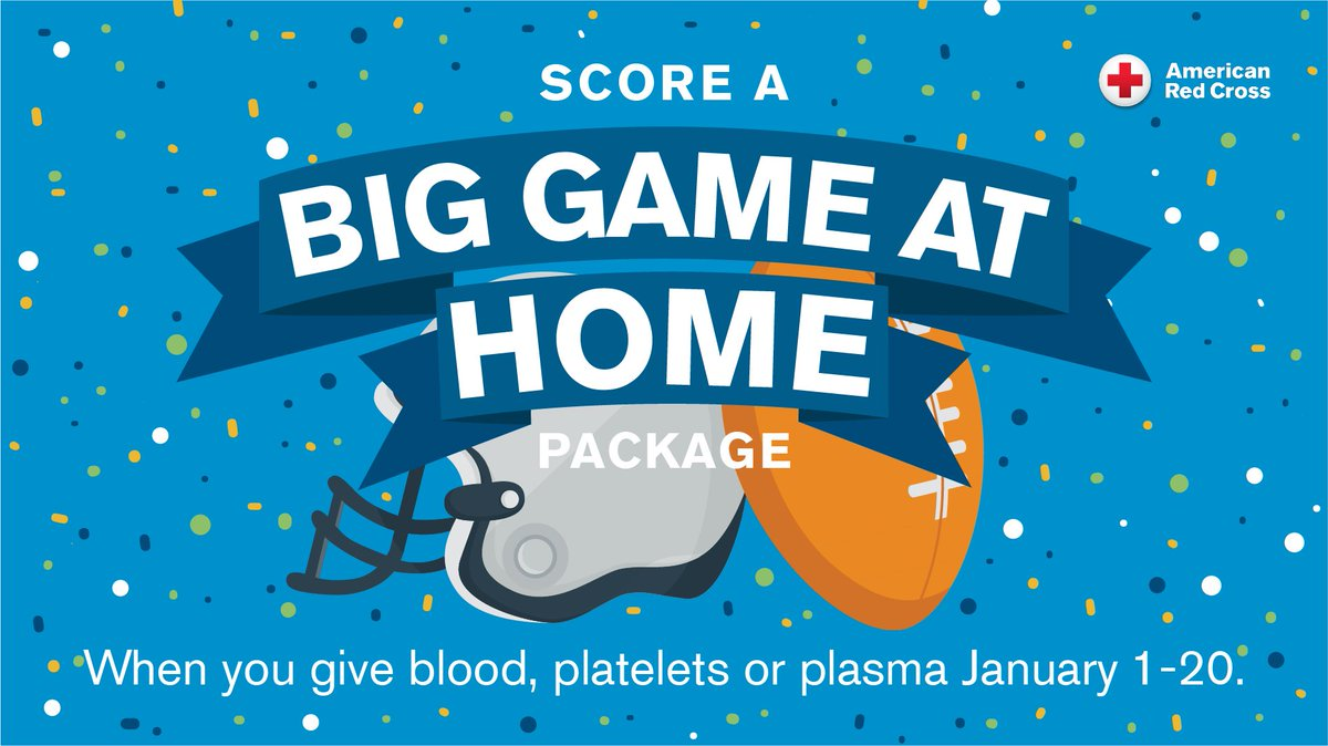 This #BloodDonorMonth, we want to thank our donors. When you give blood, platelets or plasma through Jan. 20, you'll be automatically entered to win a 65'' TV & $500 gift card!