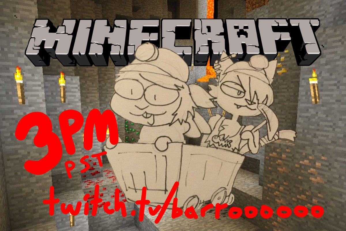 returning to minecraft world w/ rizzo today at 3PM PST   #ENVtuber