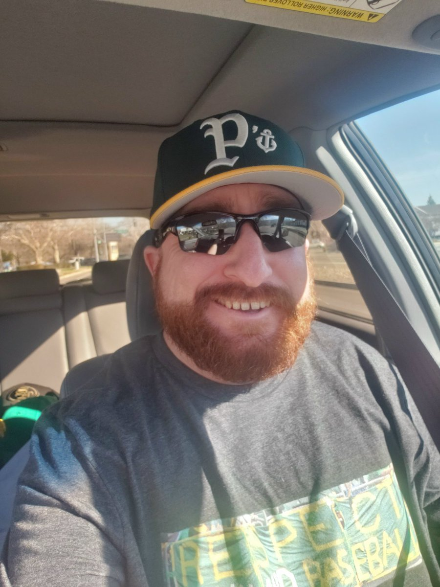 1st Hat on #NationalHatDay I'm busting out came from Hat Heaven and it's a Oakland A's colored @stocktonports Alt Logo Cap #StocktonPorts #SeasTheDay #GrownInStockton #Athletics #RootedInOakland