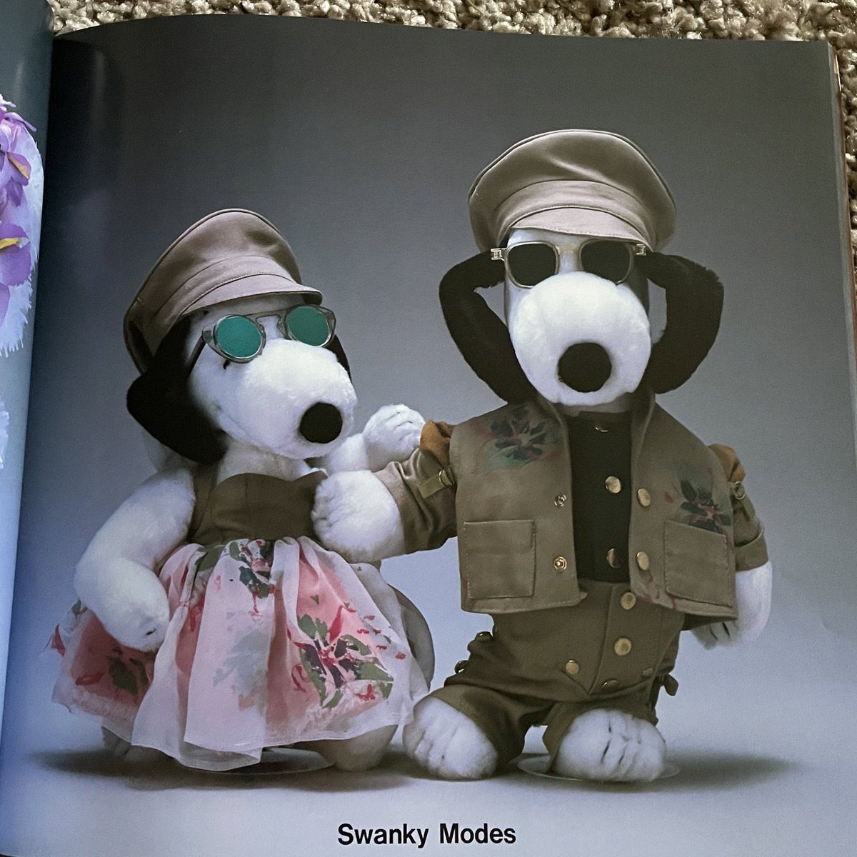 Replying to @skirtsmusic: Just trying to be on the same level as all the snoopys in this snoopy in fashion book