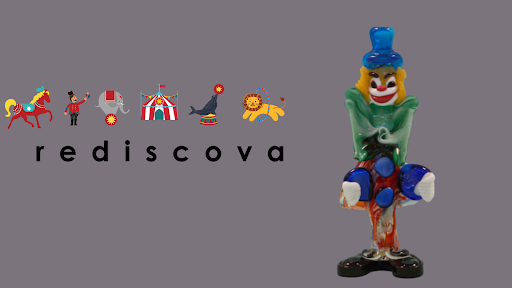 #Vintage #Murano glass #iconic #clown, you either #love it or hate it, we love it @redidcova1. More details click on the link
