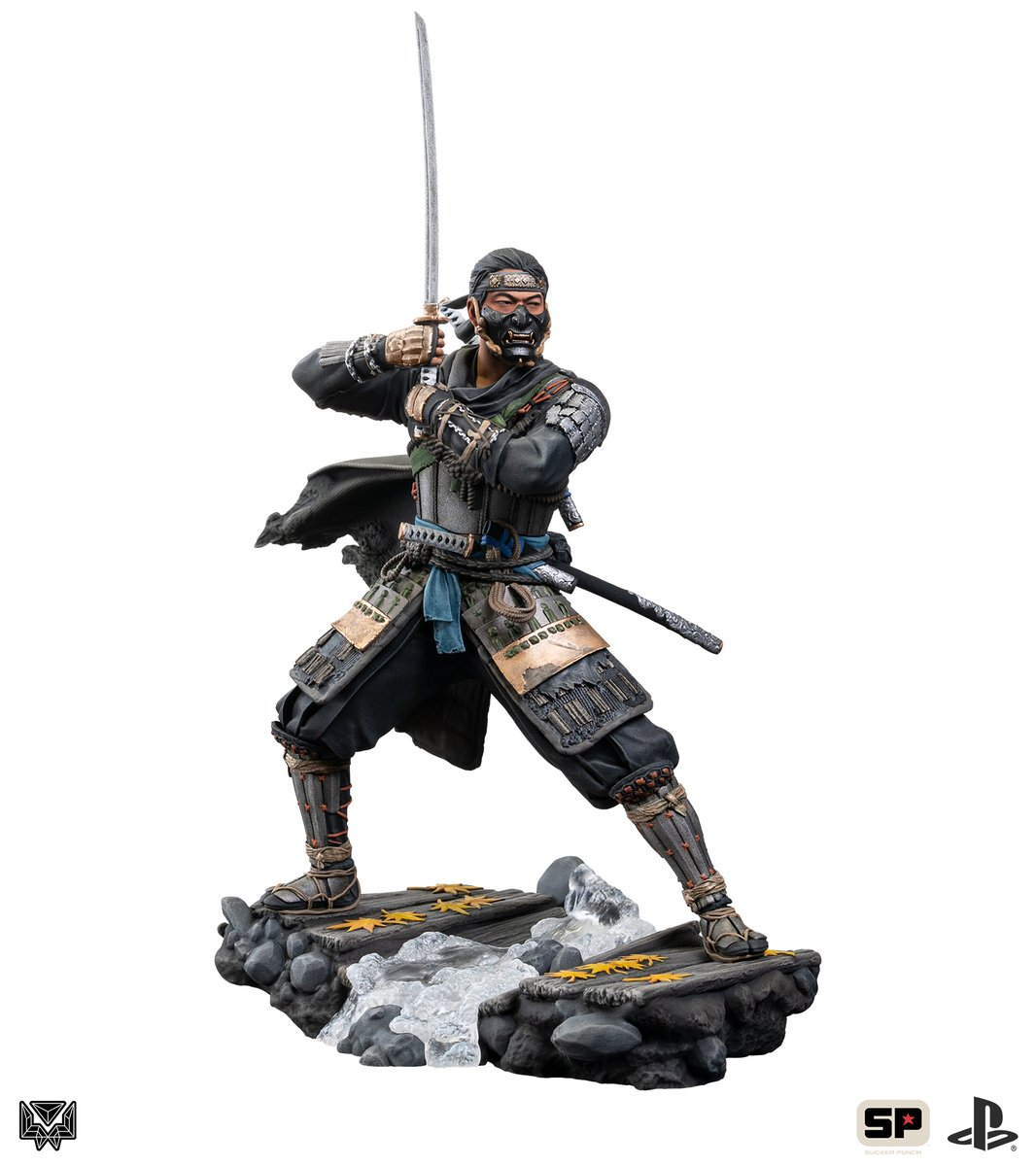 "From @Level52Studios, this new 9.75"" #GhostOfTsushima polystone statue is now available for pre-order, featuring a beautifully detailed sculpt and custom base.  Find more photos and pre-order here:"