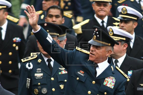 MÉXICO EEUU - México publica el expediente de su exjefe del Ejército que le entregó EE.UU.  #México