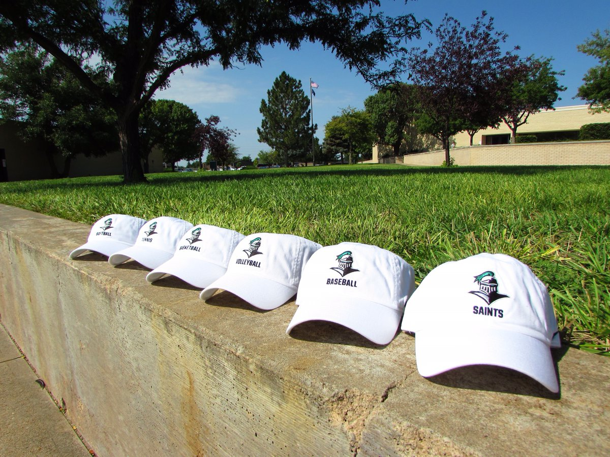 Lost your hat in today's high winds? Come shop our limited time sale - Nike Mascot Sport Campus Caps for $10! Valid in store and online now through January 22nd. Happy National Hat Day! 🧢💚🤍 #NationalHatDay #saintsbookstore