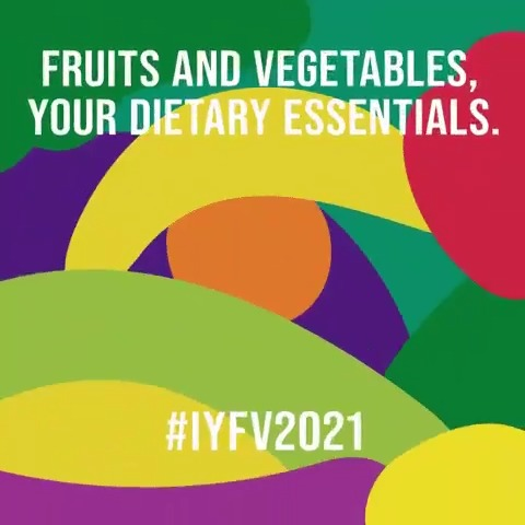 🍎🍊🥦 Fruits & vegetables are dietary essentials.   Ensuring everyone has access to them is crucial in achieving food security & combatting malnutrition.   2021 is the Int'l Year of Fruits & Vegetables. More from @FAO:  #IYFV2021