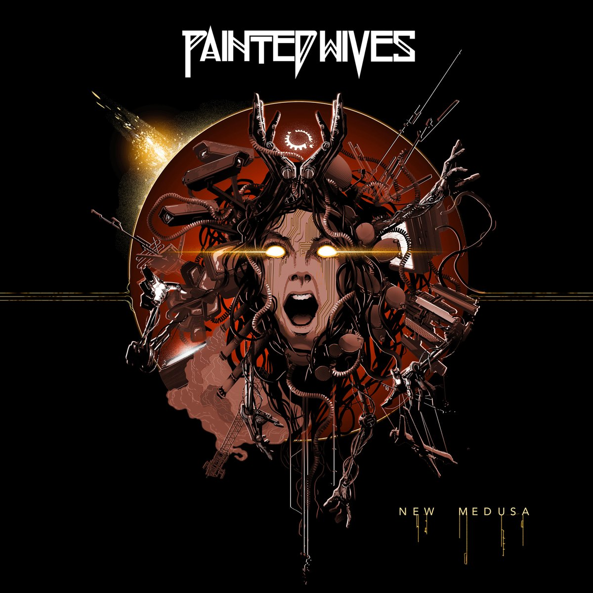 .@PaintedWives release their full-length album 'Medusa' today -   #paintedwives #NewMedusa #NewMusicFriday