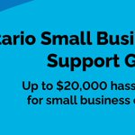 Image for the Tweet beginning: I encourage small business owners
