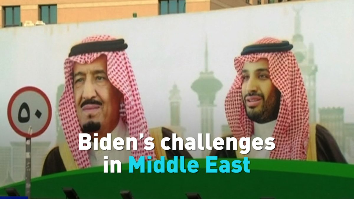As President-elect Joe Biden enters the White House, take a look at some of the major challenges in the Middle East that await his new administration.