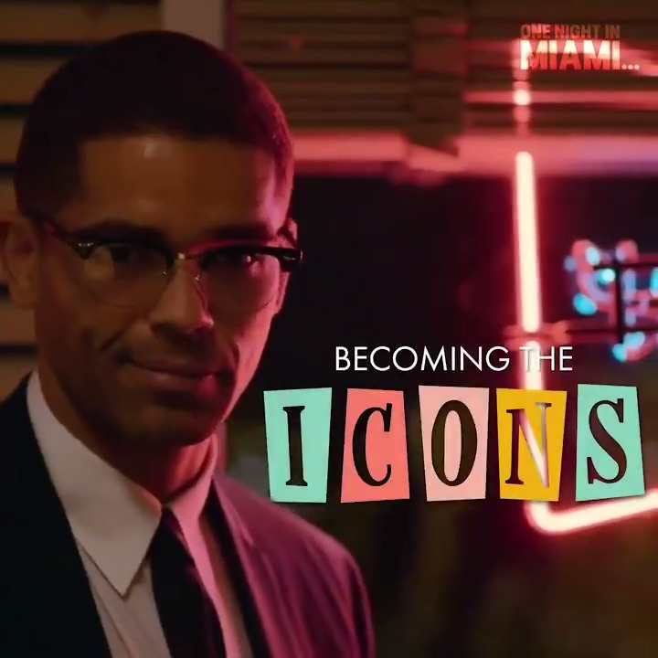 Take a look at how Kingsley Ben-Adir transformed into the civil rights icon, father, and husband, Malcolm X. #OneNightInMiami is available now on @PrimeVideo.