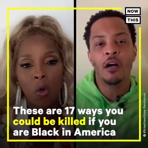 Jogging, driving, sitting in a wheelchair, riding your bike.  This list of ways you can be killed if you are Black in America is tragically growing.   In partnership with @BreatheRev #breathewithme .
