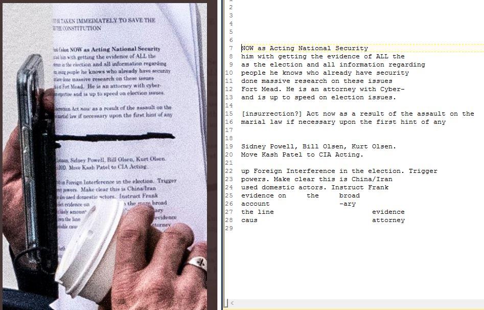 @jabinbotsford @MyPillowUSA Very fast effort to transcribe. Here's what I got.