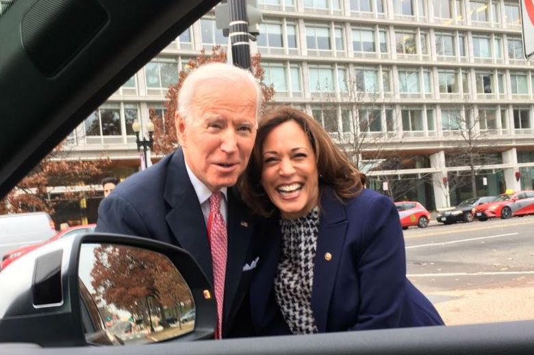 #nye2020 all over again!  #Fivemoredays #Biden #BidenHarris #Countdown  Photo credit: @adamslily