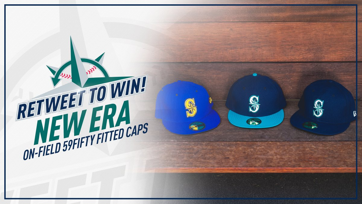 🧢 RT AND FOLLOW TO WIN 🧢   Be sure to follow @MarinersStore and hit that retweet button for a chance to win ALL THREE of our On-field 59FIFTY fitted caps and add to your collection on #NationalHatDay.