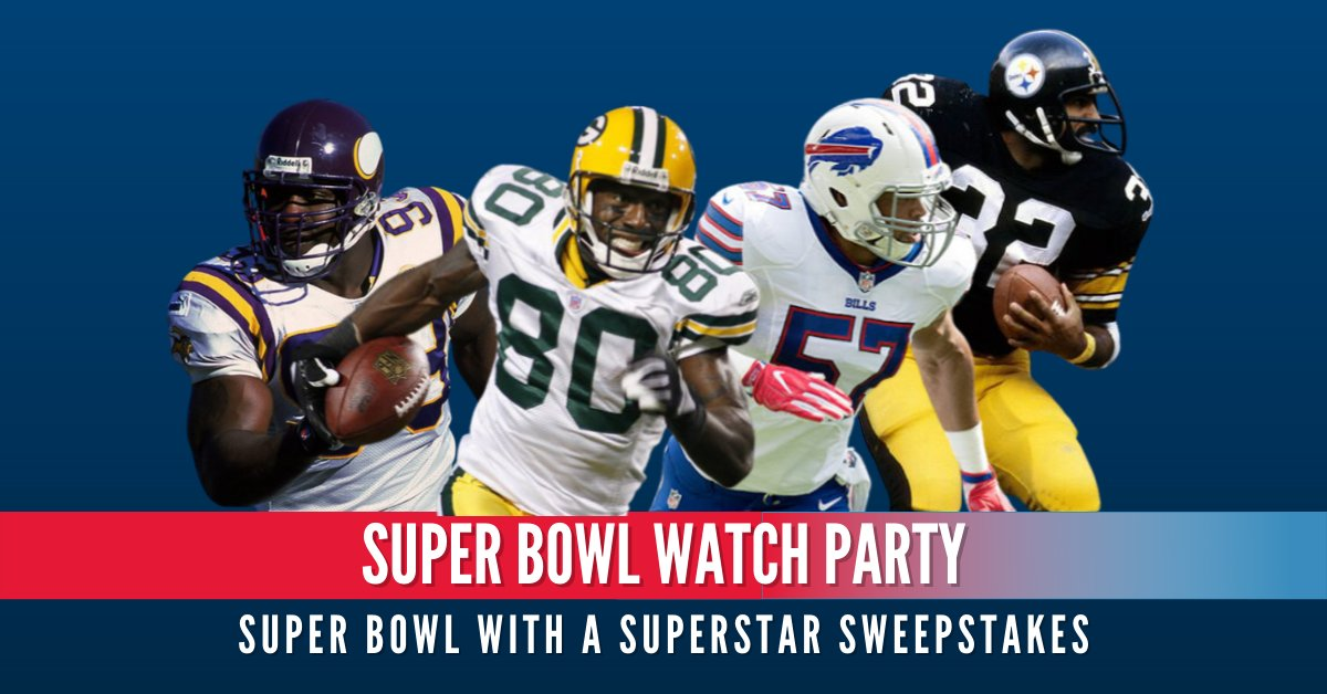 We're throwing a once-in-a-lifetime #SuperBowl party and we want you there.  Find out how to score a virtual ticket, a free @Surface Laptop Go AND help kids in the process, thanks to our @UnitedWay partners @Microsoft and @NFL.
