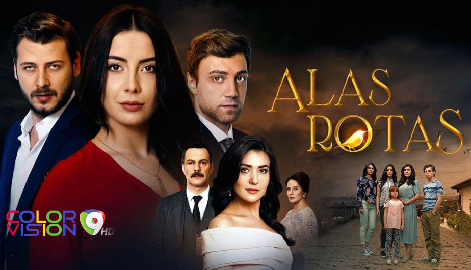 Vea #AlasRotas | 6:00 PM por el 9 📺 - https://t.co/Ky0pHj8YfU https://t.co/RaWxNyNAnA
