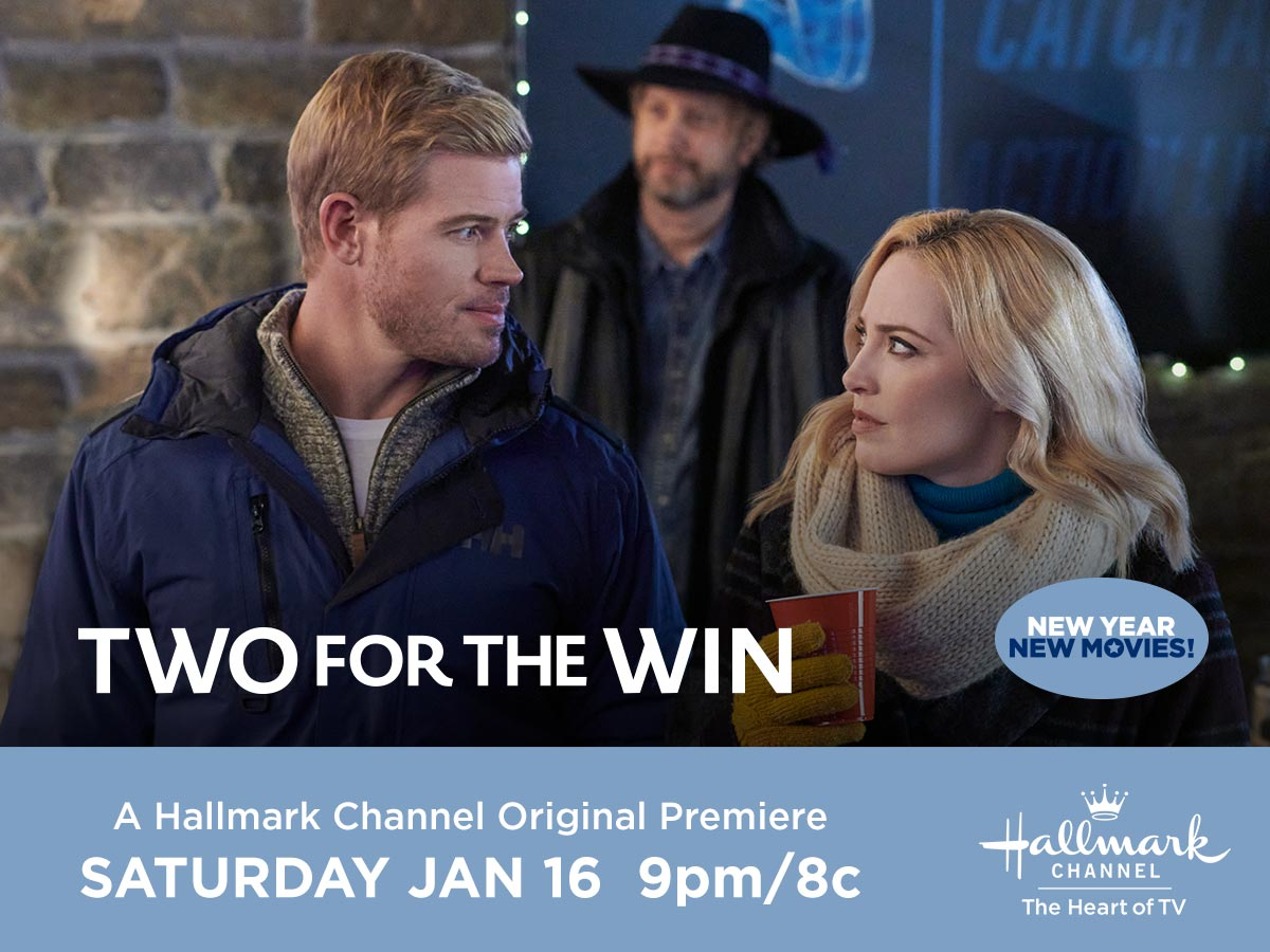 When professional skier Justin @TrevDon returns to his hometown without a coach, his ex-best friend agrees to coach him back to the top. Can they find happily Everest after together?  Watch tomorrow at 9pm/8c during the premiere of #TwoForTheWin!