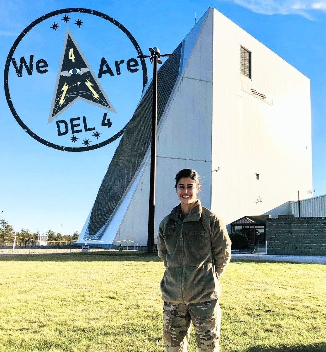 Allow us to introduce you to Capt Natalia Pinto of the 6th Space Warning Squadron on this installment of #WeAreDEL4.   #BuildtheSpaceForce #SemperSupra @Buckley_AFB