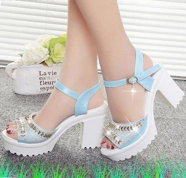 =New Designer Sexy Women's High Heels, Fish Mouth Muffin Platform Shoes= =Shoes for Cute Toes at Rich and Wanda's World=  #fashion #style #apparel #clothing #accessories #women #men #girl #boy #beauty #trend #shoes #footwear #heels #formal