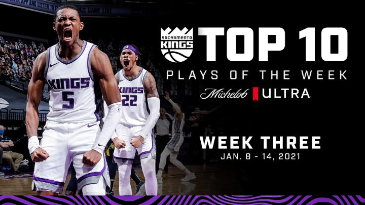 👑 𝗠𝘂𝘀𝘁-𝘀𝗲𝗲 [𝗞𝗶𝗻𝗴𝘀] 𝗧𝗩 🎥 @MichelobULTRA Top 10 Plays of the Week! #ULTRAMoment