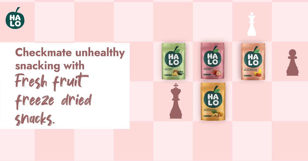 Packed with the goodness of nutrition. Snack healthy with HALO! Click the link and discover a wide range of flavors -  #HALOSnacks #SnackSmart #Eat #Snack #Healthy #Fruits #FreezeDried #Yummy #Vegan #VeganFriendly #Natural #ChemicalFree #NoAddedSugar