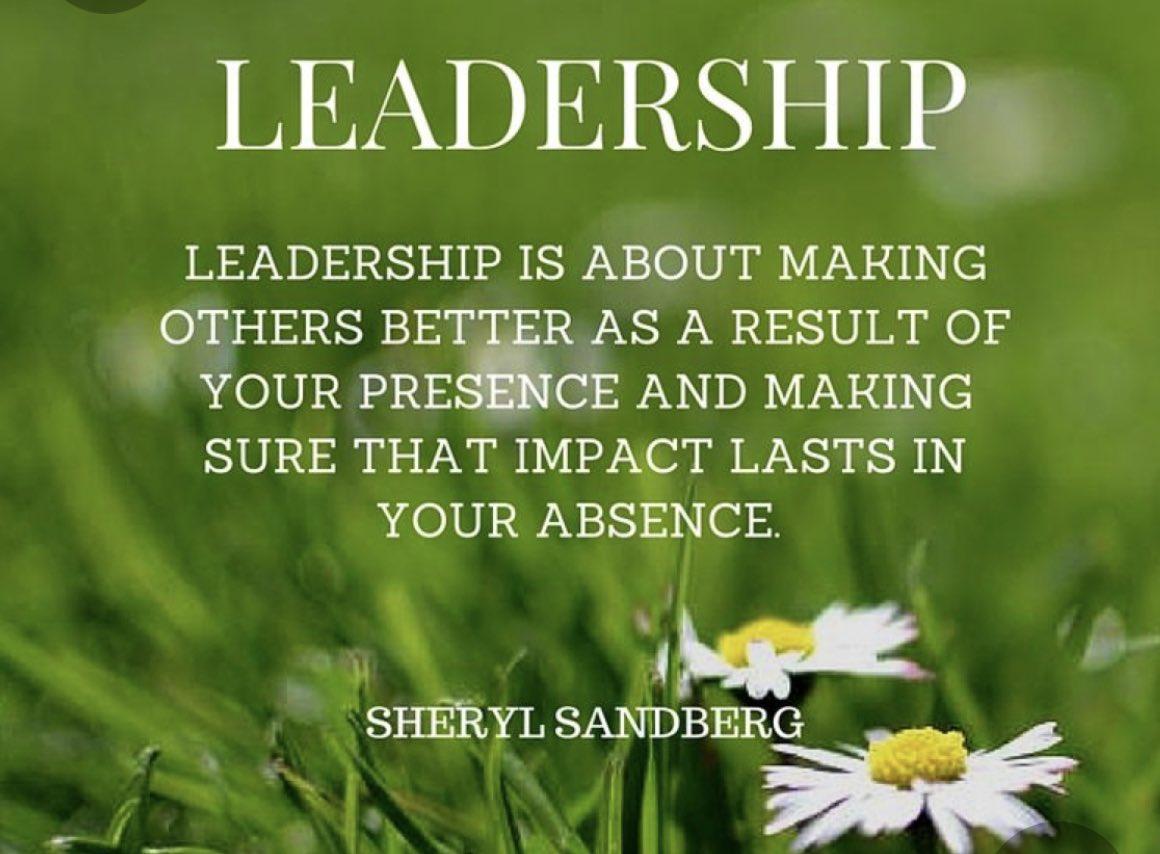 Powerful and true! #LeadershipMatters