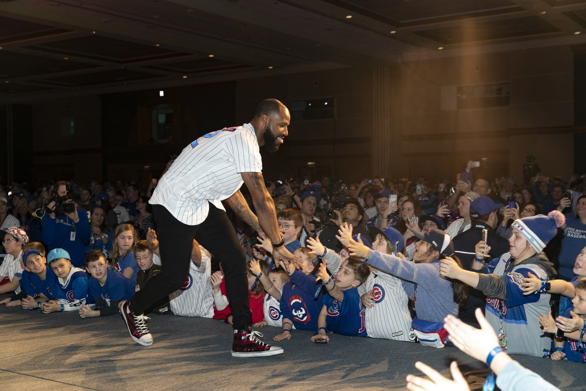 We're missing Cubs fans a little extra this weekend. 💙  Share your favorite #CubsCon memories with us using #CubTogether!