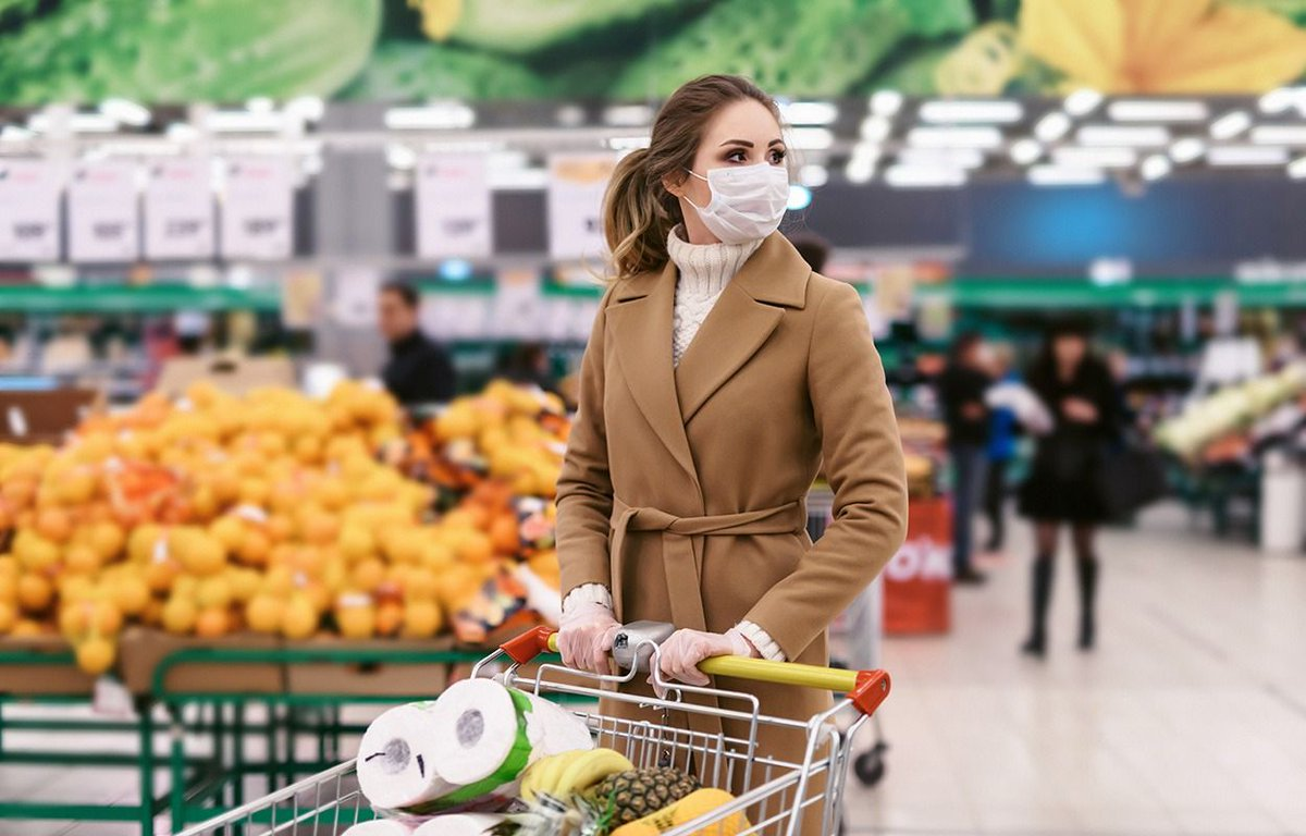 10 ways the pandemic changed our in-store #grocery shopping behavior in 2020.  #NewMR #shoppers #Insights