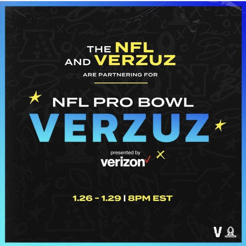 #VERZUZ is officially expanding beyond music. NFL stars will showcase their highlights.