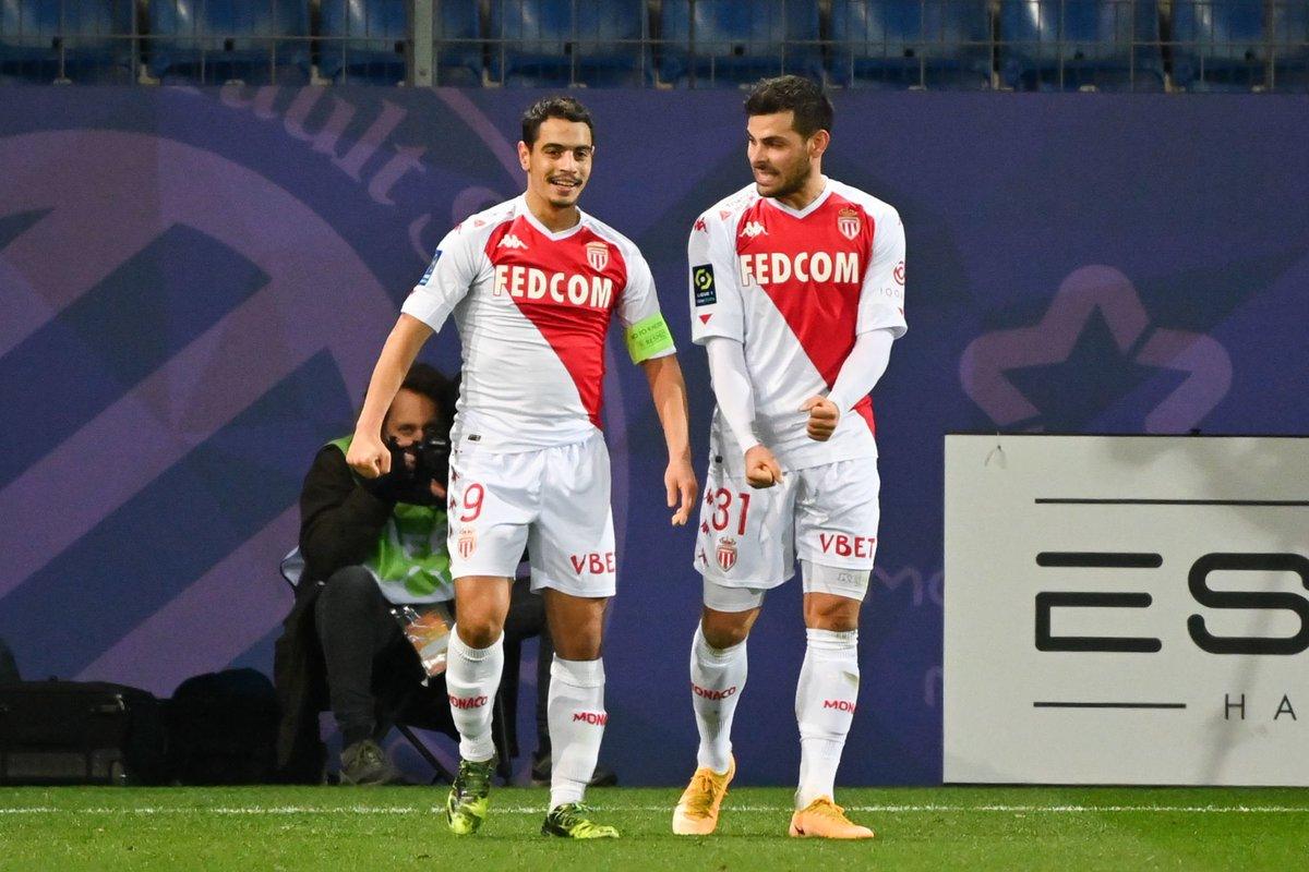 C'est reparti comme en 2020 (mais bon ça fait plaisir de marquer aussi 😂😂) @KeVolland 🤝❤️ @AS_Monaco