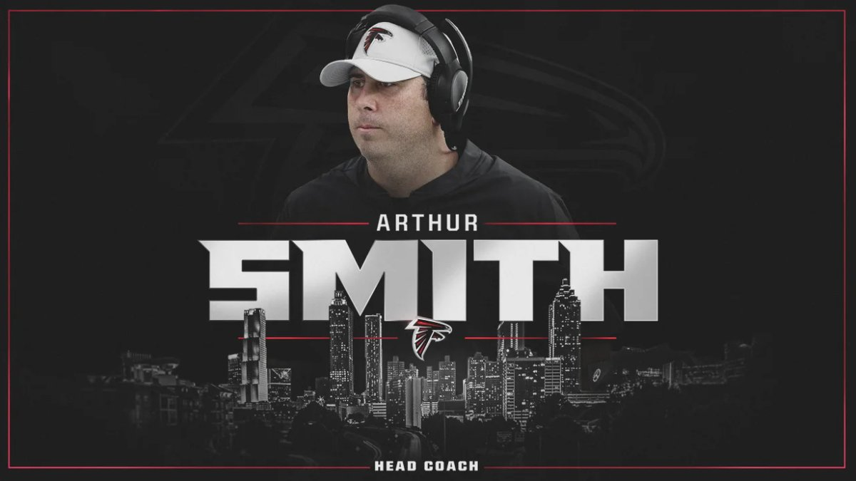 A huge congratulations to Carolina Football Family member Arthur Smith on being named head coach of the @AtlantaFalcons.  Learn a little more about Coach Smith courtesy of @LeePaceTweet.  🔗   #CarolinaFootball 🏈 #BeTheOne