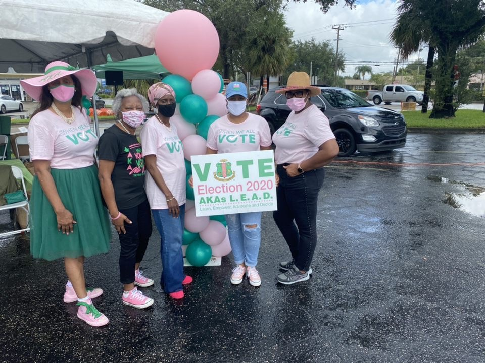 Happy Founders' Day to the Ladies of @akasorority1908 and it's a #SeriousMatter! In sisterhood and service, they have galvanized their international influence to ensure that their community and members turned out to the polls.   And that's on 1908! 💗💚