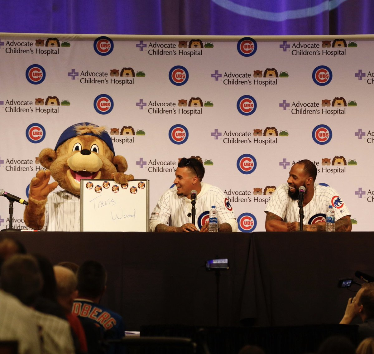 Sure am going to miss my @Cubs family this weekend, can't wait to #CubTogether again soon!