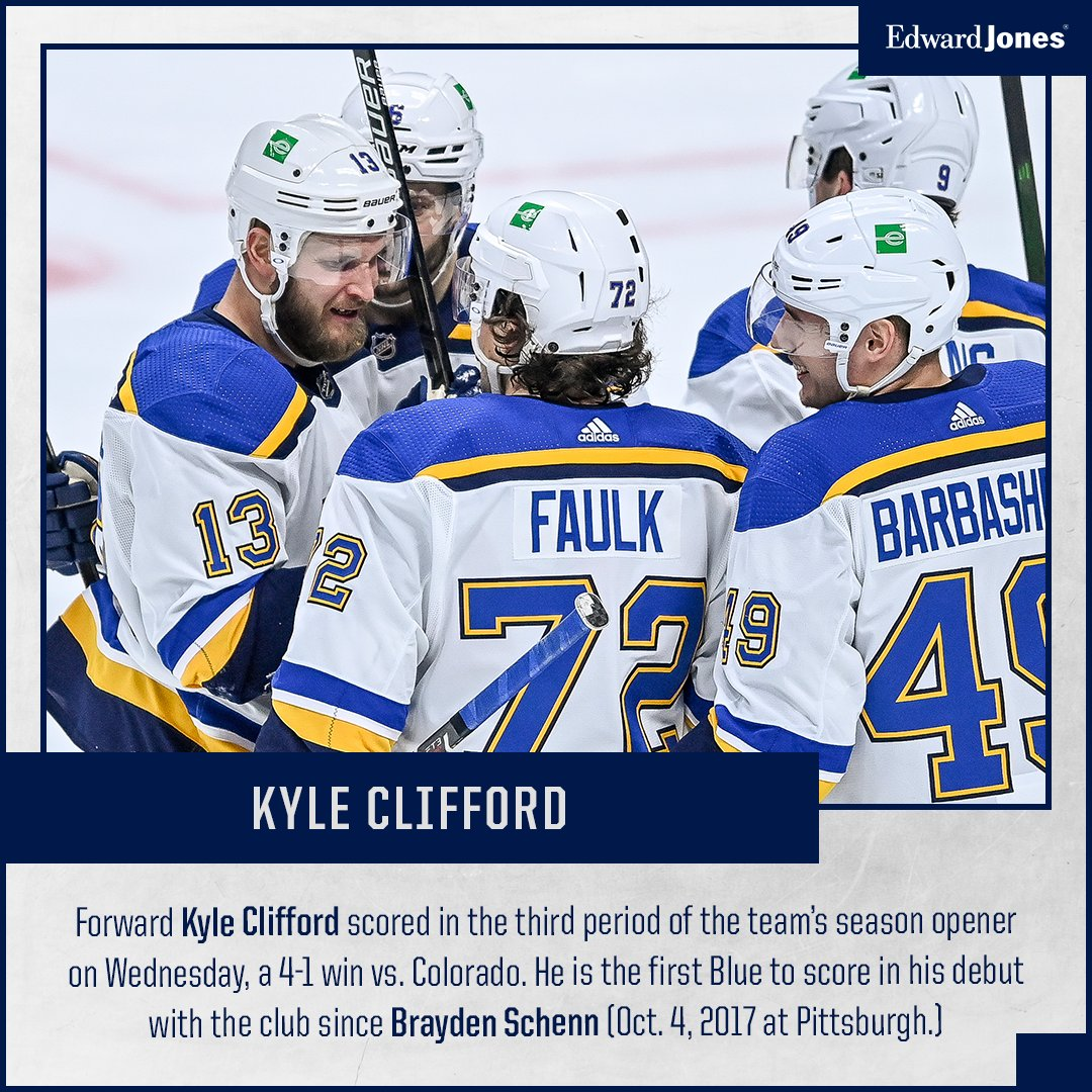 We like this guy already! #stlblues