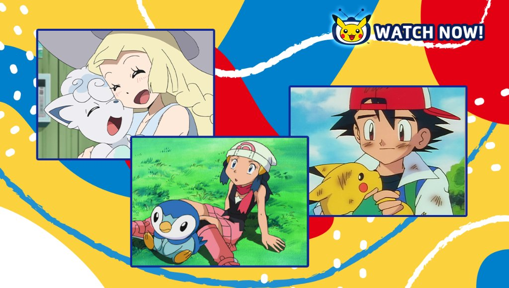 It's like they always say, Trainers. You never forget your first Pokémon.   Watch new Trainers get their very first Pokémon in classic episodes of #PokemonTheSeries on #PokemonTV!  📺