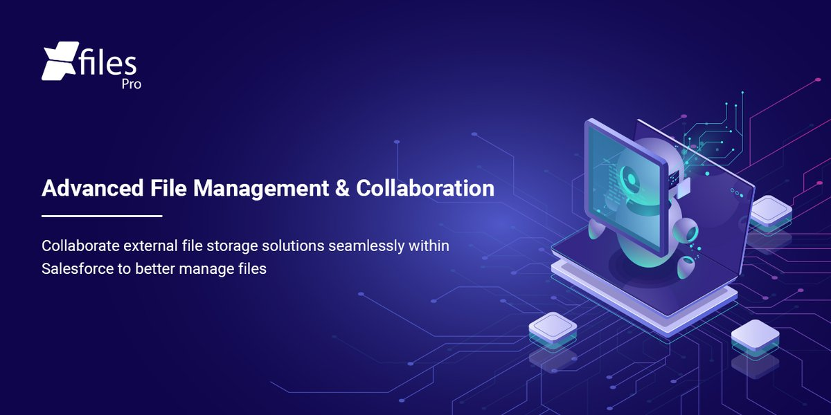 Still paying high file storage costs? Raise above the storage limitations and make your Salesforce instance unlimited with #XfilesPro. Get the app  #FileManagement #FileStorage #AppExchange #Salesforce