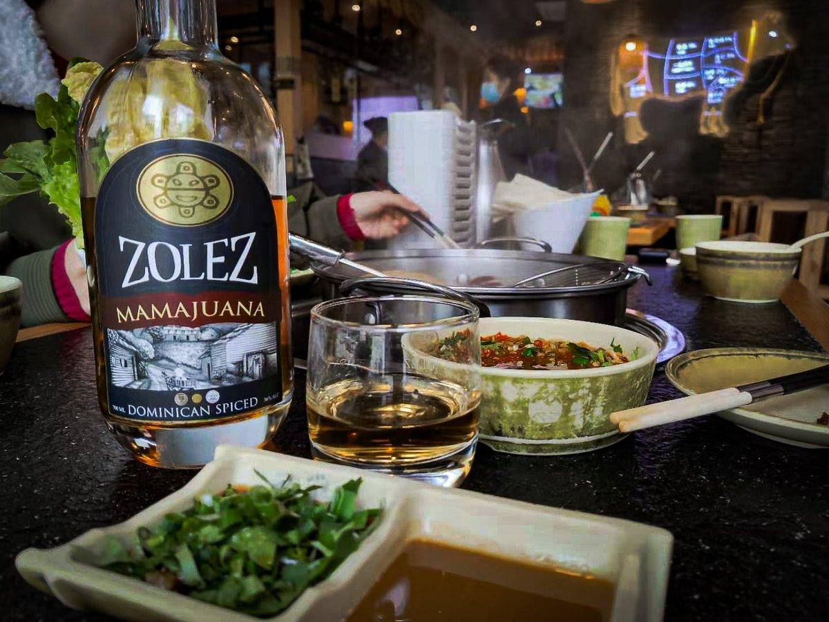 #恭喜發財  Gōng Xǐ Ni! Gōng Xǐ Fā Cái!  Are you ready for the Lunar New Year? Get your favorite ZOLEZ today and enjoy your holidays 🥃  #Gongxifacai #ronzolez #happyholidays #mamajuana #rum #ron #spirits
