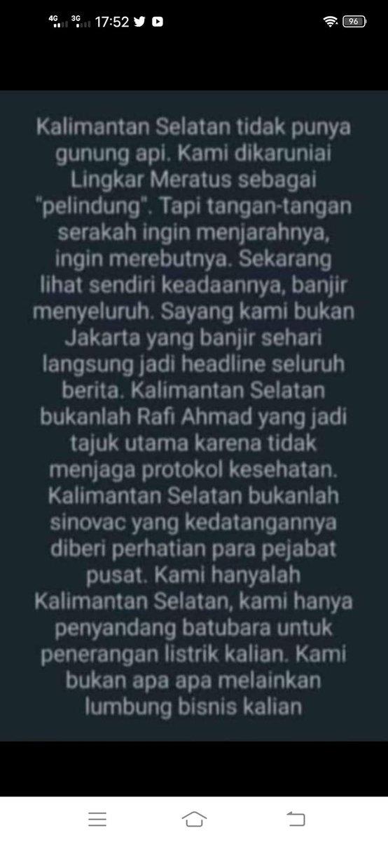 @DatukTamburin @jokowi Nih curhatan warga disana 😥🤦😱🥺 https://t.co/ptB2Zd6h7i