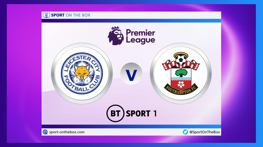 #Football ⚽️ LIVE    @premierleague  @LCFC 🆚 @SouthamptonFC    📺 7.30pm @btsport 1  ⏰ Kick-off 8.00pm    ➡️   @btsportfootball