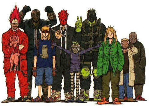 dorohedoro should be in the running for best character design JUST LOOK AT THEM  #AnimeAwards