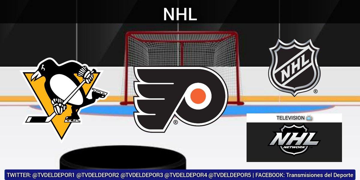 #NHL  #LetsGoPens vs. #AnytimeAnywhere ⏰ 19:00 hrs ET 📺 @NHLNetwork