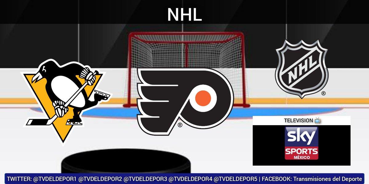 #NHL  #LetsGoPens vs. #AnytimeAnywhere ⏰ 18:00 hrs 📺 @SKYSportsMX (501/1501)