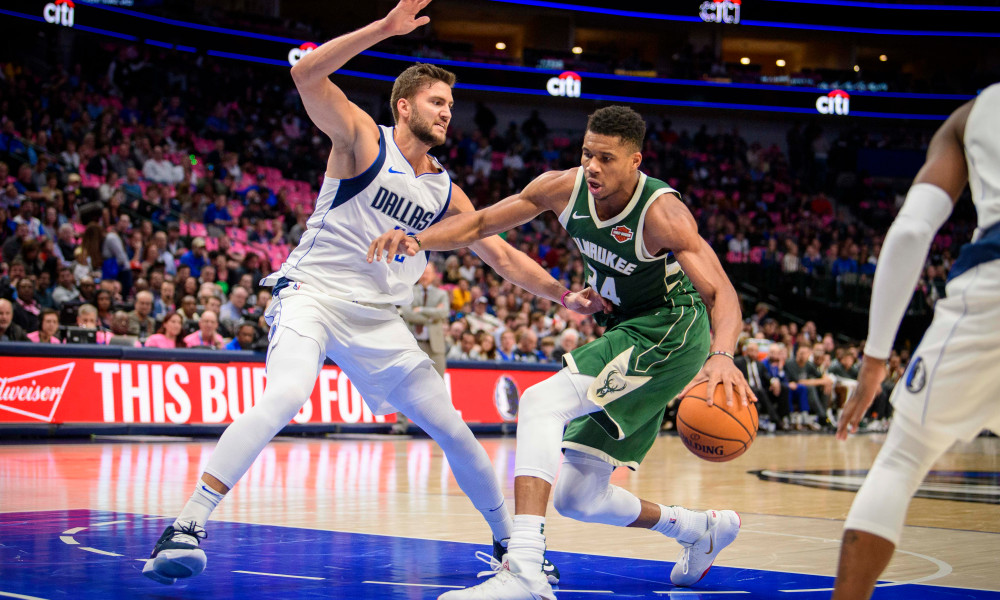 NBA Tonight at 7:30 pm ET. Milwaukee Bucks (7-4) vs. Dallas Mavericks (6-4). Bucks have won 3 in a row. Mavericks won their last game 104-93 vs. Hornets. Who's going to lead the way, tonight Doncic or Giannis? What's your Take? @Bucks #FearTheDeer @dallasmavs #MFFL https://t.co/hauJID3kul