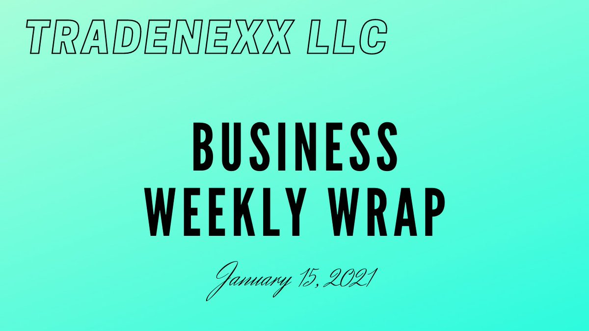 Business Weekly Wrap  via @YouTube #love #support #networkmarketing #businessowner #skills #charity #peace #LoveThyNeighbor #GenuineLove #Compassion #supportsmallbusiness #tradenexx #tradenexxllc #integrity #purpose #drive #business #businesstips #LLC #LIVE